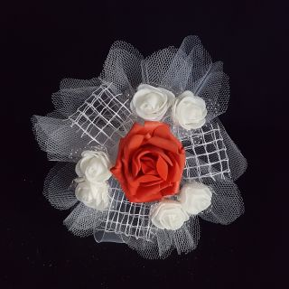 Букет с голяма роза