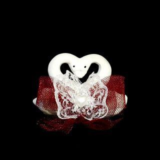 Двойка лебеди-сърце №1