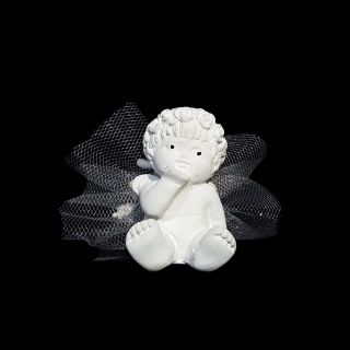 Ангелче с роза