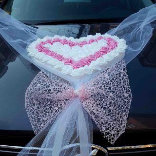 Сватбена украса за кола №36