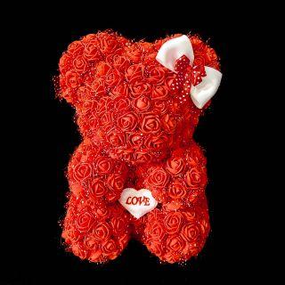 Мече от рози RED